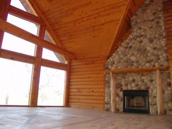 Foreclosure Sale Build By Log Home Builder On 9405